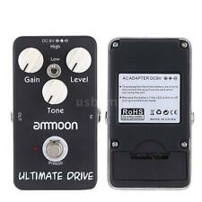 ammoon AP-02 Ultimate Drive Overdrive Guitar Effect Pedal Black I4I2