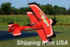 42in Dynam Pitts Radio Controlled RC EPO Foam Biplane Airplane PNP Red