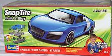 Revell Monogram 1690 Audi R8 Typ 42 2-door roadster BLUE SNAP Model Kit 1/25