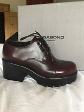 Vagabond Dioon Lace Up Shoes, Bordeaux Leather BNIB UK6/ EU39. RRP £89.99