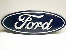 FORD Schild Emaille Emailschild ENAMEL SIGN  19 x 50 cm