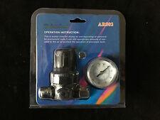 Druckminderer 1/4 Manometer Druckluft-Regler AR802 von STARCHEM