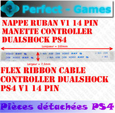 nappe ruban cable power flex ribbon manette controller V1 14 pin SONY PS4
