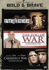Casualties of War/Faith of My Fathers/The Fog of War (DVD, 2015, 2-Disc Set)