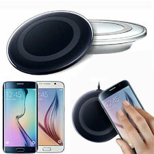 Qi Wireless Charger Charging Pad for Universal For All Mobiles V8 Pin Htc Sam ..