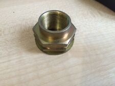 NEW ALFA FIAT LANCIA Hub Nut M24 x 1.5 Beta Delta 4WD Thema with built in washer