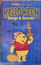"WALT DISNEY ""HALLOWEEN SONGS & SOUNDS"" CASSETTE NEW  FREE Shipping"