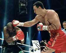 Wladimir KLITSCHKO Champion Boxer Signed Photo B AFTAL COA Boxing Dr Steelhammer