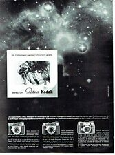 PUBLICITE ADVERTISING 126  1962  appareil photo Retina par Kodak