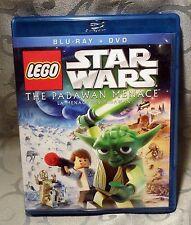 Star Wars Lego The Padawan Menace - Blu Ray & DVD
