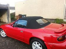 Mazda MX5/Eunos Mohair+Glass Hood/Roof Fitted and Frame Overhauled £540