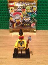 LEGO SERIES 10  TOMAHAWK WARRIOR MINT CONDITION