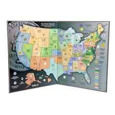 State Series Quarters - Collector's MAP - (1999-2009)