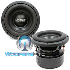 "(2) SA-8 V1.5 D2 SUNDOWN AUDIO SUBS 8"" DVC 2 OHM 1000 WATTS RMS SUBWOOFERS NEW"