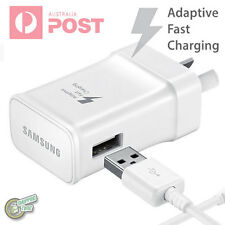 Original Genuine Samsung Galaxy S5 Note 3 FAST CHARGER AC WALL CHARGER+3.0 CABLE