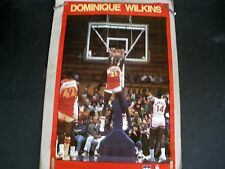 RARE DOMINIQUE WILKINS HAWKS 1988 VINTAGE ORIGINAL STARLINE AWESOME DUNK POSTER