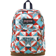 "NWT JANSPORT ""RIGHT PACK WORLD"" 15"" LAPTOP BACKPACK - MULTI YANKEE DOODLE"