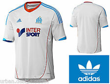 Olympic De Marseille Football Shirt Adults Adidas Home Kit Top T-Shirt XL Mens