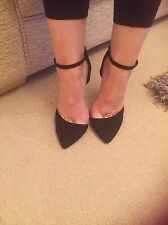 Killer BLACK Heels Size 5 By ASOS