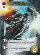 AGENT VENOM Upper Deck Marvel Legendary MULTI-GUN