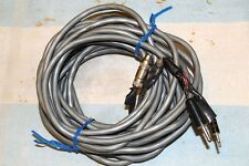 HOME MADE TAPE RECORDER MICROPHONE EXTENSION CABLE 1/8 & 3/32 MALE to FEMALE 20'
