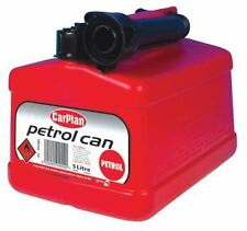 5L 5 Litre Plastic Jerry Can Fuel Petrol Red Water Pouring Spout Container