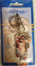 Ed Hardy; Geisha, Officially Liscensed Metal Key Chain