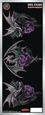 Dragon Beauty Rose 3 in 1 -Vinyl Car Sticker  - Auto Decal - Anne Stokes