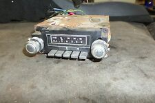 Vintage 1970's GM DELCO Caddy 8 Track Player AM-FM Radio Chevy Buick Oldsmobile