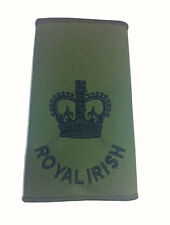 NEW Royal Irish REGT Sergeant Major WO2 Rank Slide ( To be worn on MTP