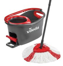 Vileda Turbo Easy Wring and Clean Turbo Microfibre Mop and Bucket Set