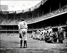 Babe Ruth Farewell Photo 8X10 - New York Yankees 1948  Buy Any 2 Get 1 FREE