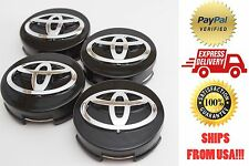 Toyota Camry, Highlander, Prius, Sienna, Venza, Avalon, Matrix 4x Center Caps
