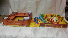 Ideal toy 1960's Vintage Fort Cheyenne Cowboys & Indians Play Pretend Game set