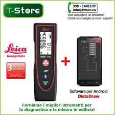 Misuratore Laser Leica Disto D110+Software DistoDraw per Android - FATTURABILE-