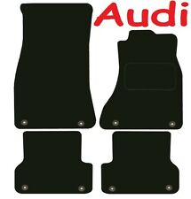 Tailored Deluxe Quality Car Mats Audi A6 2011 Onwards ** Black ** Saloon Estate