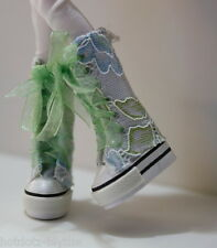 Custom Lace Platfrom Sneakers For Blythe/Pullip/Monster High/Lalaloopsy - B3_365