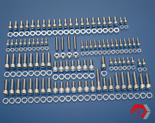 BBC BIG BLOCK CHEVY 348 - 409 V8 STAINLESS STEEL ENGINE BOLT KIT '58-'65 CHEVY