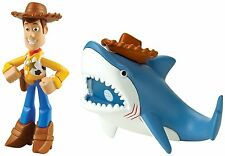 Toy Story 20th Anniversary Buddies 2 Figure Pack - Hero Woody & Shark *NEW*