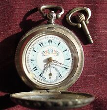 SILVER POCKET WATCH BY J.DENT LONDON (OTTOMAN EMPIRE /TURKEY)
