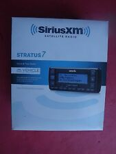 New SEALED SIRIUS XM Stratus 7 SSV7V1 Satellite Radio Receiver W/ Vehicle Kit