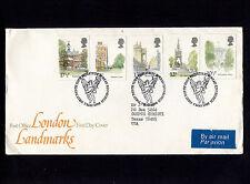 1980 Britain Edinburgh London Landmarks FDC