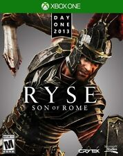 New Microsoft Xbox One RYSE Son Of Rome Day One Edition Video Game Blu-Ray DVD
