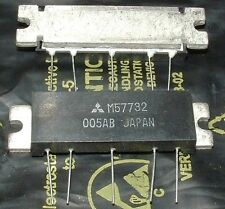 MITSUBISHI 144-175MHz 7W FM RF power amplifier module M57732 5pin H12