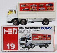 1:102 SCALE #19 TOMICA WING TRANSPORTER RARE! TOMY TRUCK MITSUBISHI FUSO