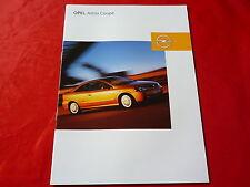 OPEL Astra G Coupe 1.8 16V 2.2 16V 2.0 Turbo 2.2 DTI Prospekt + Preisliste 2003