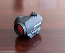 Aimpoint Micro H-1 H1 30mm Red Dot Sight 1X Magnification 2 MOA Dot - 200018