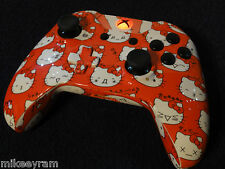 Xbox One Kitty Wireless Controller - Red LED - Rapid fire - Modded