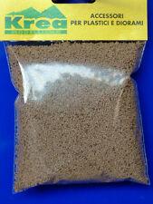 Pietrisco in sughero piccolo grigio chiaro HO-1:87 per plastici gr.30 - Krea