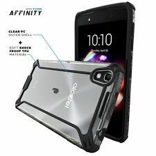 POETIC Affinity Shockproof Bumper Case Cover for ALCATEL OneTouch Idol 4 Black